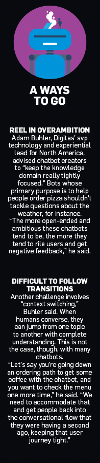 sidebar of info about chatbots