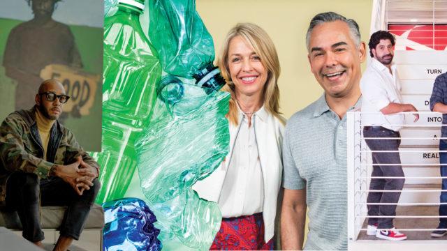 Swizz Beatz, plastic bottles, Target, Viacom and AB InBev execs