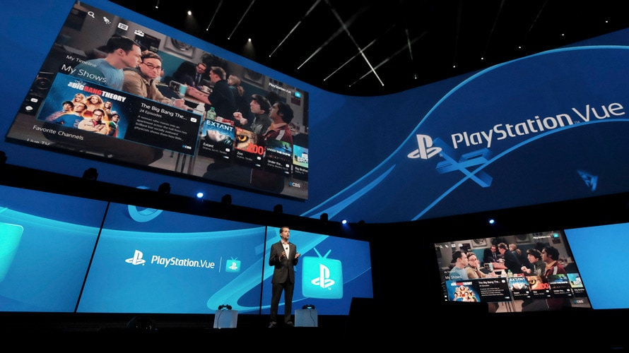 Playstation Vue E3 press conference