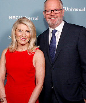 Photo of Mark Marshall and Laura Molen
