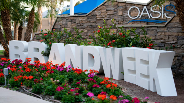 Brandweek kicks off in Palm Springs, Calif.