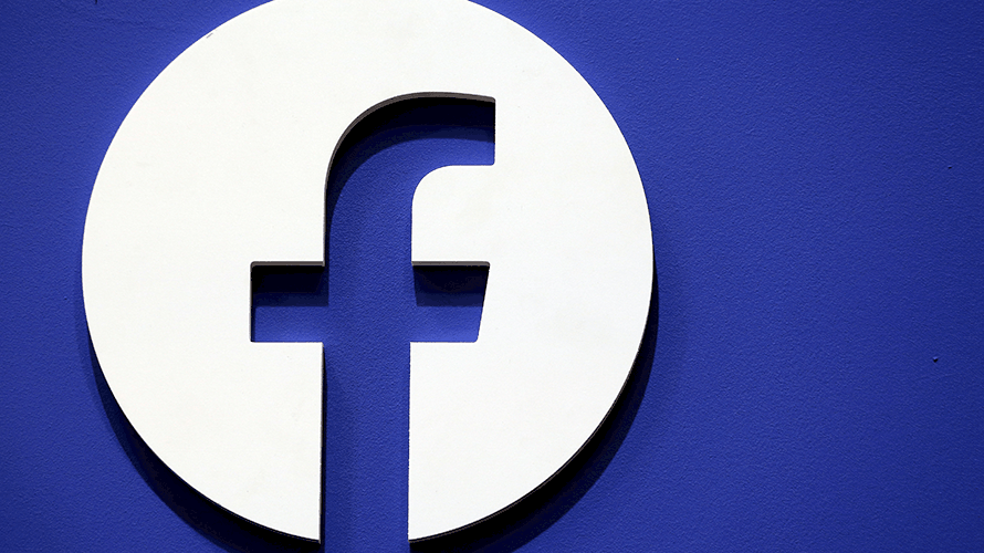 the facebook logo