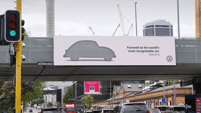 DDB New Zealand is helping VW say goodbye to its famed Beetle.