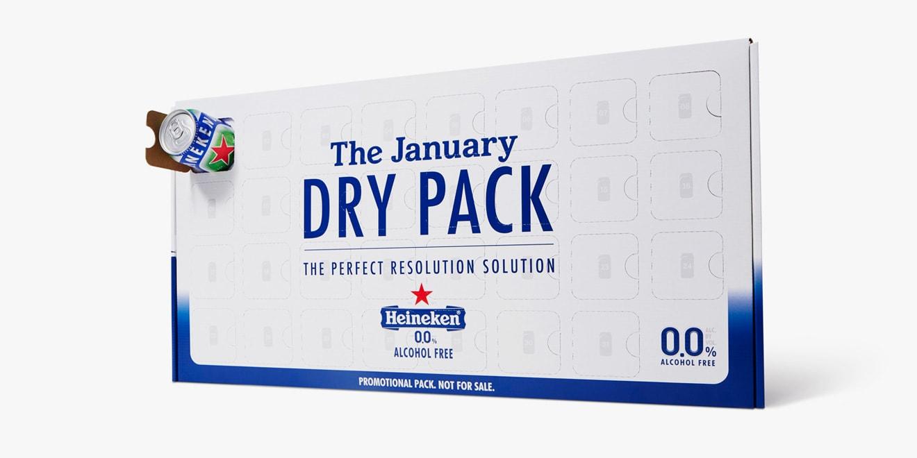 the heineken dry pack