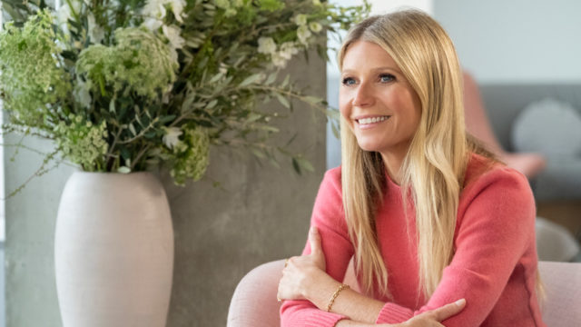 Gwyneth Paltrow spoke with Sallie Krawcheck on the final day of the NRF conference.