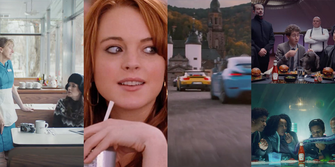 Super Bowl ads from SquareSpace, Discover, Porsche and Heinz