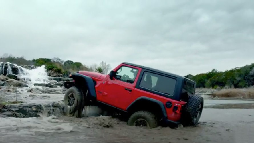 Jeep will not reveal any details prior to the game.
