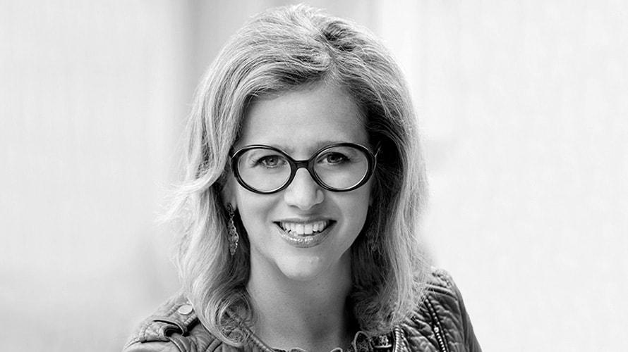 black and white headshot of Marisa Thalberg