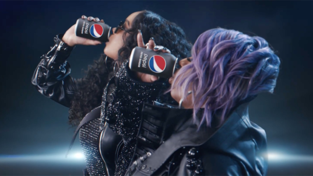 missy elliott and HER drink pepsi