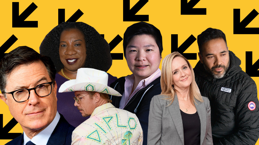 a collage of speakers coming to SXSW 2020