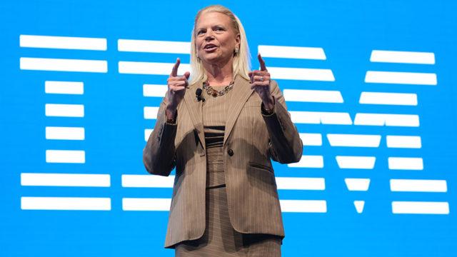 Virginia Rometty has held the top job at IBM since 2012.