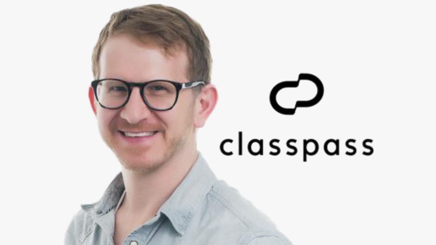 Zach Apter headshot and ClassPass logo