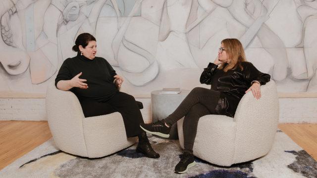 Alexandra Waldman and Alegra O