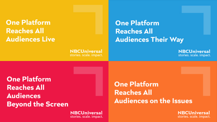 A mashup of NBCUniversal