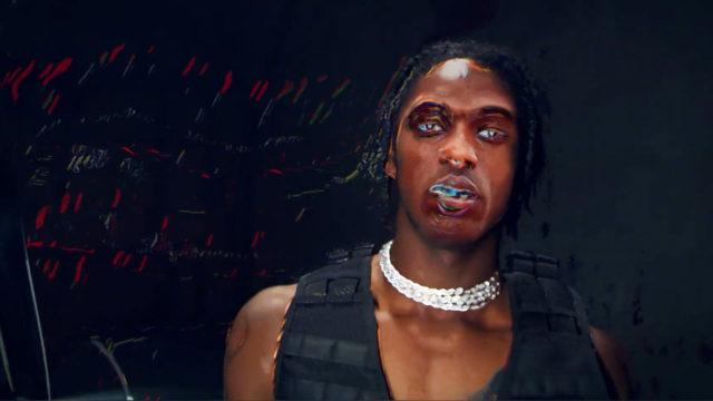 An image of Travis Scott being reimagined as 'Travis Bott'