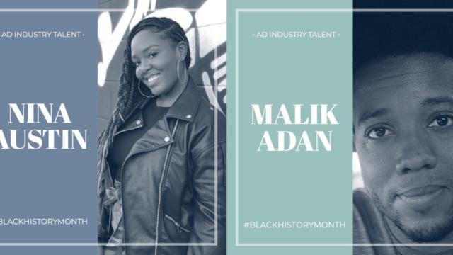 Nina Austin and Malik Adan are two industry talent that Derek Walker is highlighting in February.
