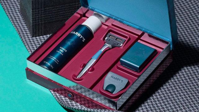 a harry's shaving kit