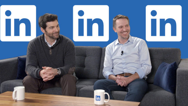 Jeff Weiner and Ryan Roslansky of LinkedIn
