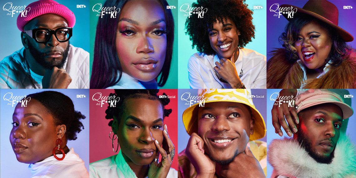 8 portraits of black queer creators who were featured on BET