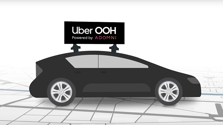 Uber OOH launches as a partnership between Uber and ad-tech firm Adomni.