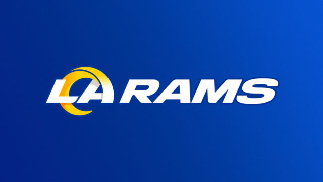 the new la rams logo