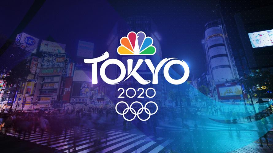 The NBC Tokyo 2020 logo