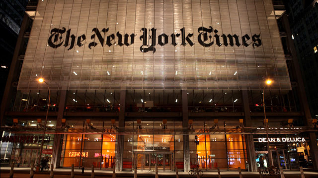 the new york times office