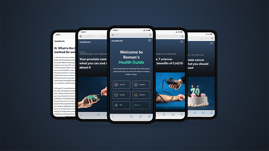 ro telehealth app screenshots