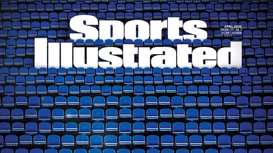 Sports Illustrated cover of empty stadium amid coronavirus