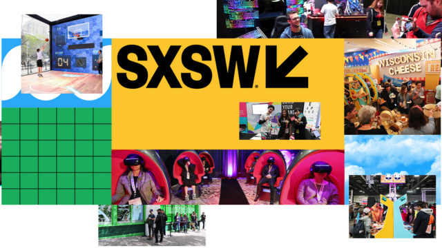 SXSW logo and activations