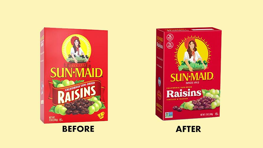Sun-Maid boxes