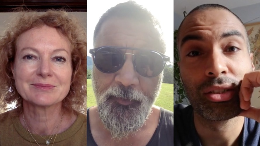 Image shows three creative directors