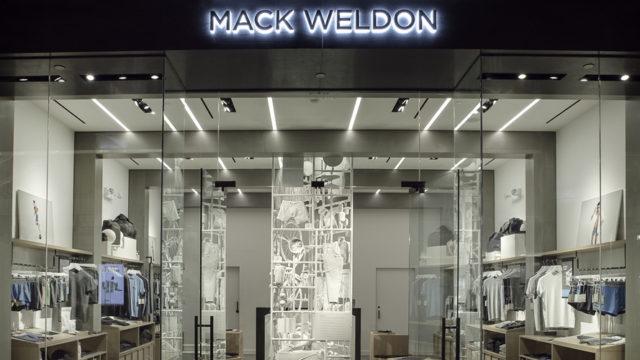 Mack Weldon storefront