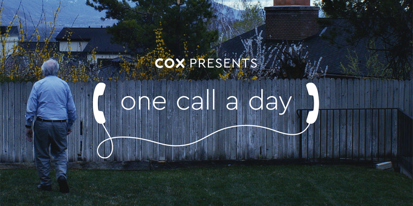 Screenshot of Cox Communications ad with the text,