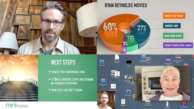 Screenshot of Ryan Reynolds