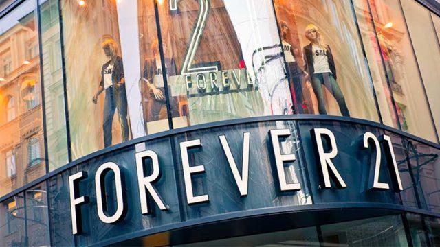 forever21 storefront