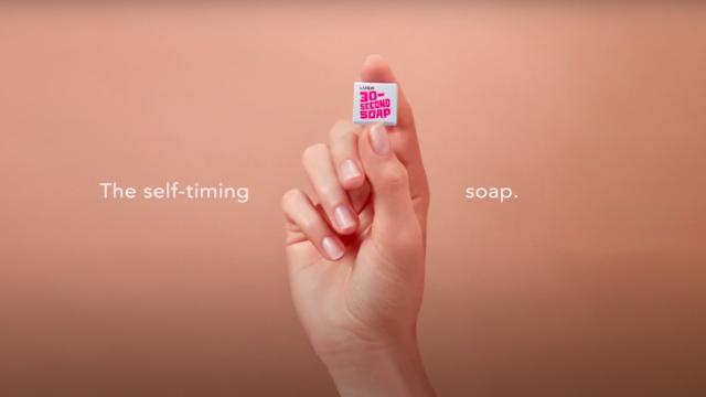 Lush branded soaps