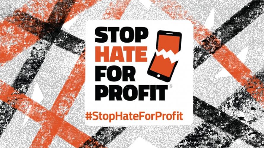 #stophateforprofit poster