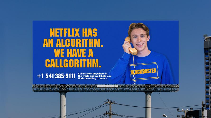 blockbuster billboard