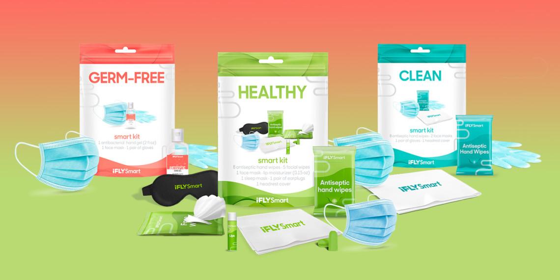 ifly sanitizing kits