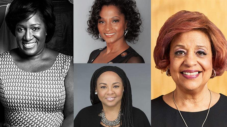 Photos of Tiffany R. Warren, Adrianne Smith, Heide Gardner and Judy Jackson