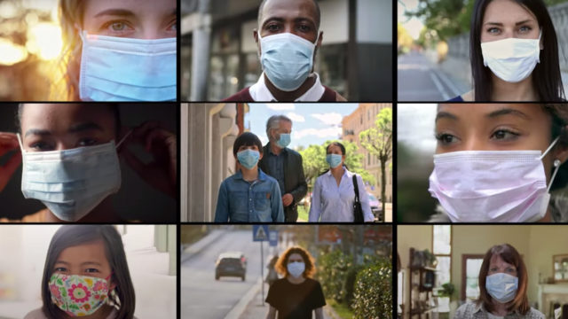 Collage of the PSAs