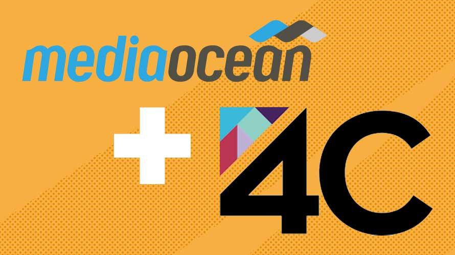 Mediaocean and 4C logos