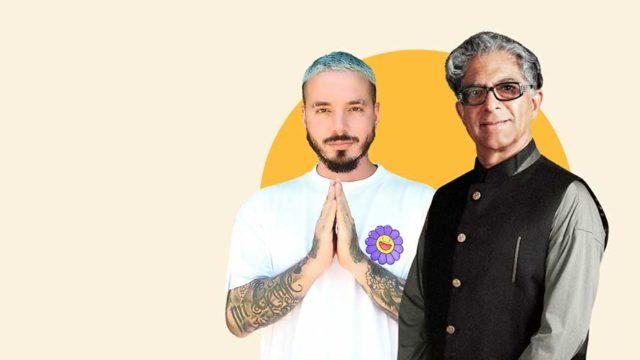 deepak chopra and j balvin