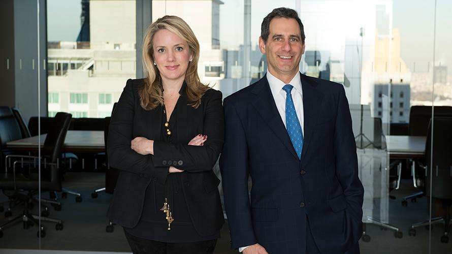 Cathy Leonhardt and David Shiffman