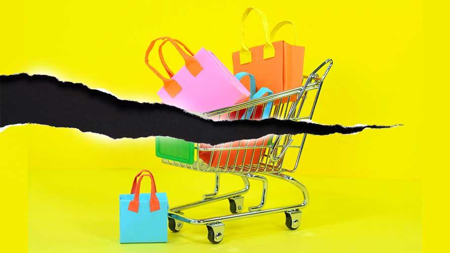 shopping cart tear