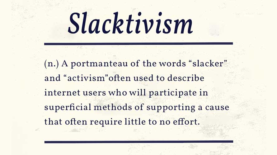 slacktivism meme