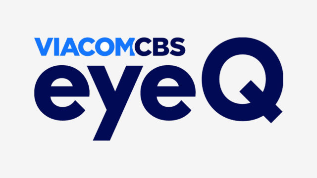 ViacomCBS and EyeQ logos