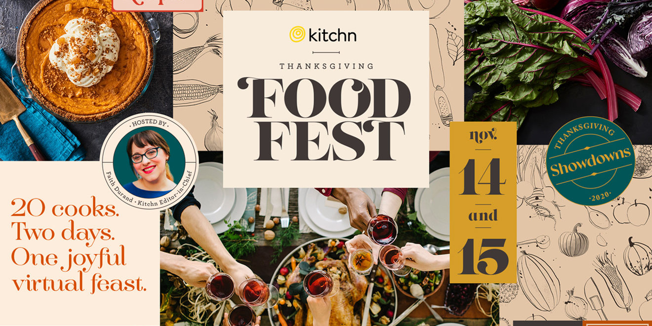 Image of Apartment Therapy Kitchn Thanksgiving Food Fest