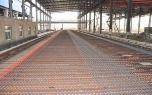 cooling-bed for steel rebar mill